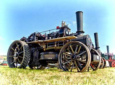 Photograph - Fowler Ploughing Engine by Paul Gulliver