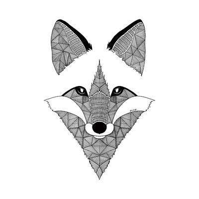 Koi Digital Art - Fox Art Et Be by Art Et Be