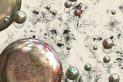 Photograph - Fox Bubbles  by Claire Bull