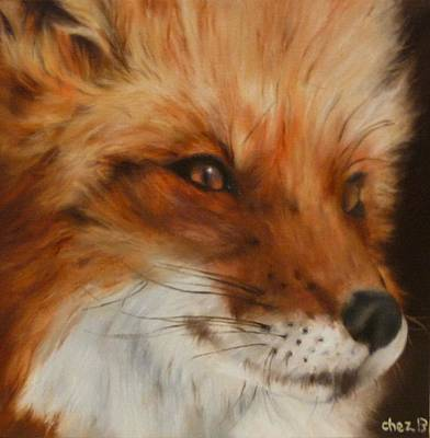 Painting - FoX by Cherise Foster