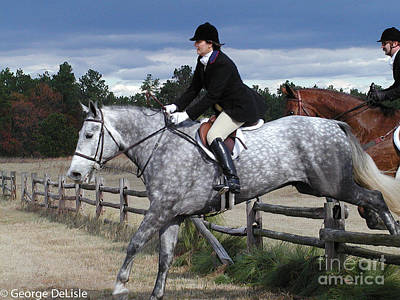 Photograph - Fox Hunt 4 by George DeLisle