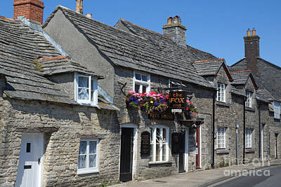 Photograph - Fox Inn At Corfe Castle by David Birchall