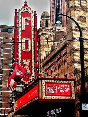 Fox Theater - Atlanta Art Print by Robert L Jackson