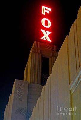 Fox Theater - Pomona - 02 Art Print by Gregory Dyer