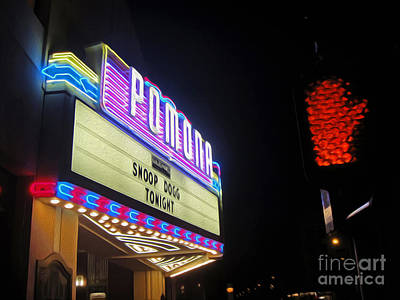 Photograph - Fox Theater - Pomona - 11 by Gregory Dyer