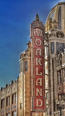 Photograph - Fox Theatre - Oakland California by Bill Owen