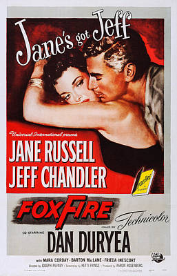 Foxfire, Us Poster, From Left Jane Art Print