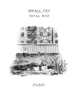 Play Pretend Drawing - Foxhole by William Steig