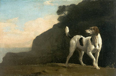 Foxhound A Foxhound, George Stubbs, 1724-1806 Art Print by Litz Collection