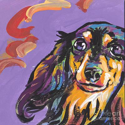 Foxie Doxie Art Print