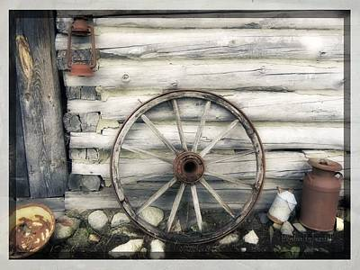 Photograph - Fox's Wheel by Jamie Johnson