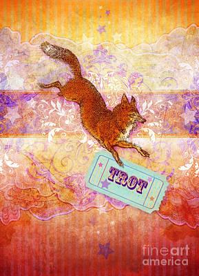 Multi-color Digital Art - Foxtrot by Aimee Stewart