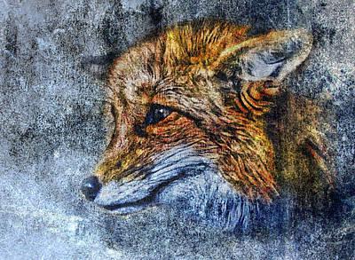 Foxy Art Print by Yury Malkov