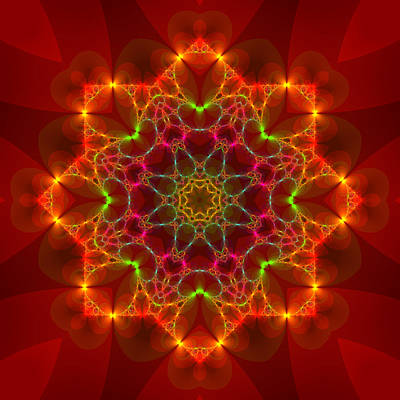 Digital Art - Fractal 83 by Judi Suni Hall