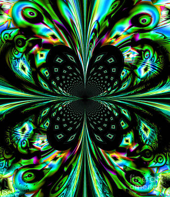 Digital Art - Fractal by Arlene Sundby