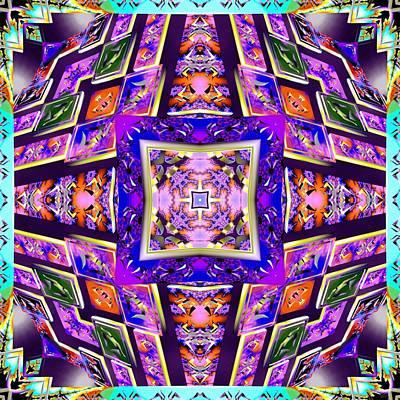 Digital Art - Fractal Ascension by Derek Gedney
