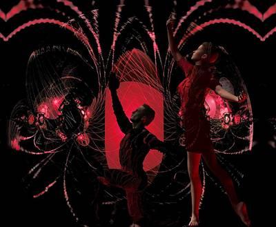 Digital Art - Fractal  Ballet by Nancy Pauling