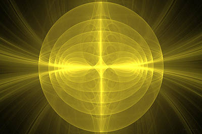 Digital Art - Fractal - Christ - Holy Cross by Mike Savad