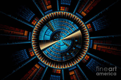 Digital Art - Fractal City by Sven Fauth