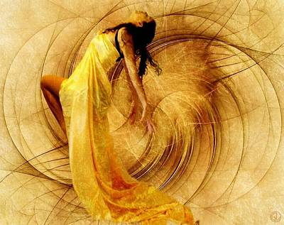 Fractal Dance Of Joy Art Print