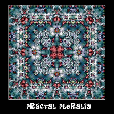 Digital Art - Fractal Floralia No 1 by Charmaine Zoe