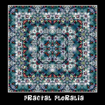 Digital Art - Fractal Floralia No 2 by Charmaine Zoe