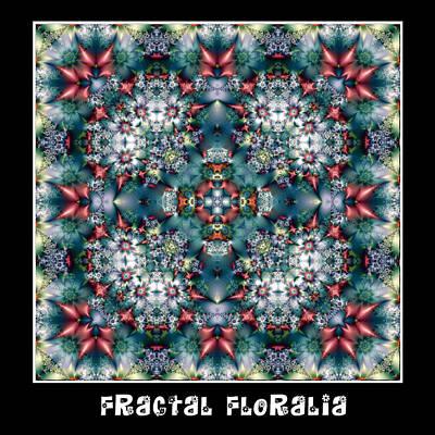 Digital Art - Fractal Floralia No 5 by Charmaine Zoe