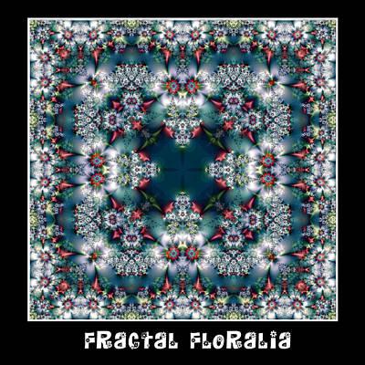 Digital Art - Fractal Floralia No 7 by Charmaine Zoe