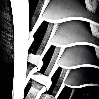 White Photograph - Fractal Ford by Matthew Blum