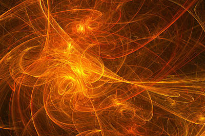Digital Art - Fractal - Habanera by Mike Savad
