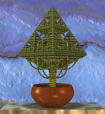 Digital Art - Fractal Horticulture by Manny Lorenzo