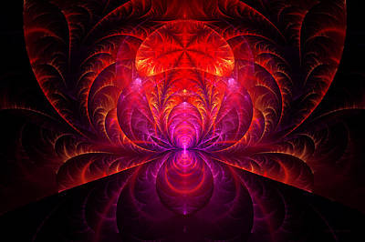Digital Art - Fractal - Jewel Of The Nile by Mike Savad