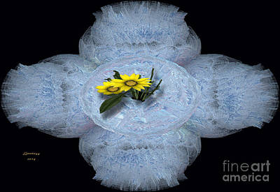 Digital Art - Fractal Lace by Melissa Messick