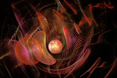 Digital Art - Fractal - Life Origins by Mike Savad