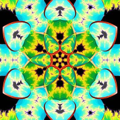 Digital Art - Fractal Lotus by Derek Gedney