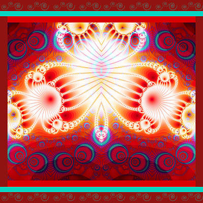 Digital Art - Fractal Mania by Fran Riley