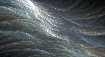 Digital Art - Fractal Ocean Swell by Doug Morgan