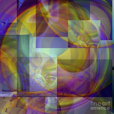 Digital Art - Fractal Orb 2 by Ursula Freer