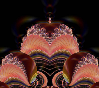 Digital Art - Fractal Queen by Fran Riley