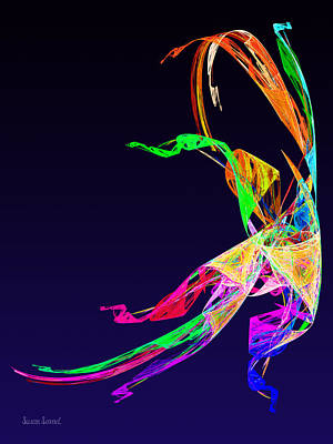 Photograph - Fractal - Russian Dancer by Susan Savad