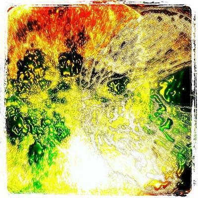Fractal Wall Art - Photograph - #fractal #skull #freeformthought by King Da Ling