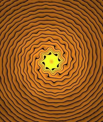 Spiral Photograph - Fractal Spirals by David Parker