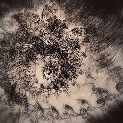 Vern Digital Art - Fractal Steampunk by Susan Maxwell Schmidt