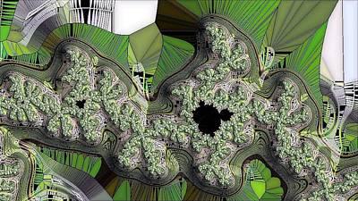 Digital Art - Fractal Swath by Ron Bissett