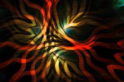 Fractal Swirl Art Print by Hakon Soreide