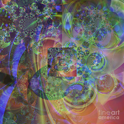 Digital Art - Fractal Universe by Ursula Freer