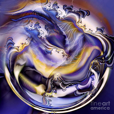 Digital Art - Fractal World by Ursula Freer