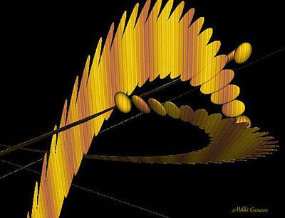 Fractals 3 Art Print by Mikki Cucuzzo