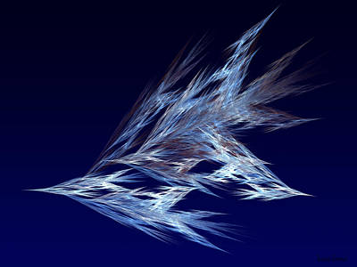 Digital Art - Fractals - Birds In Flight by Susan Savad