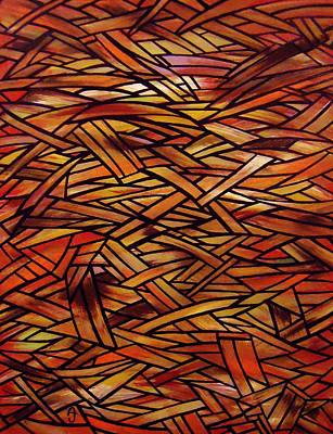 Abstract Painting - Fracture by Anthony Schwed